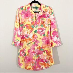 Ralph Lauren | Floral Sleep Shirt
